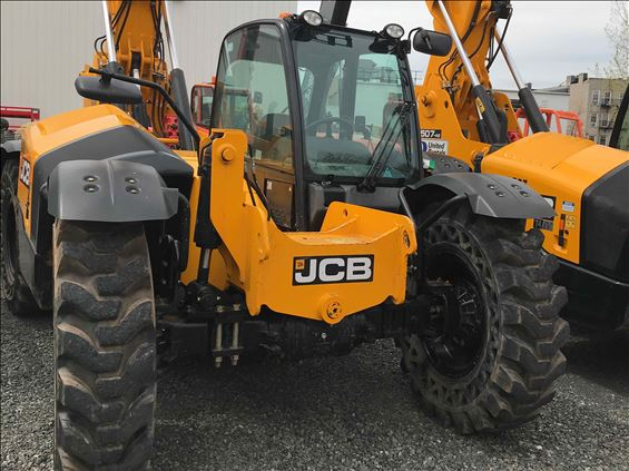 2018 JCB 507-42 Rough Terrain Forklift