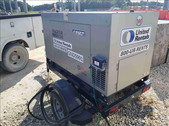 2018 Wacker Neuson G14 Portable Generator