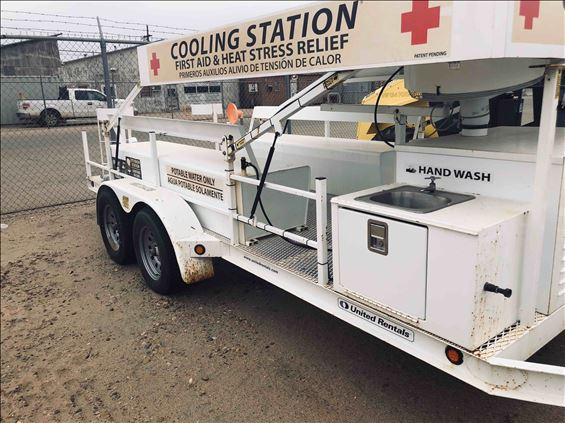 2012 Topeka Metal Specialties COOLING STATION Trailer