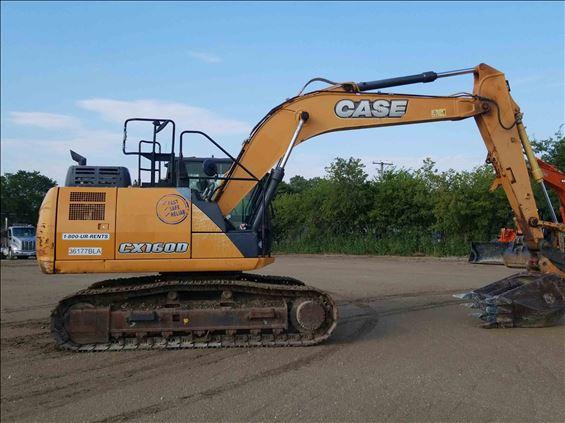 2016 Case CX160D Excavator