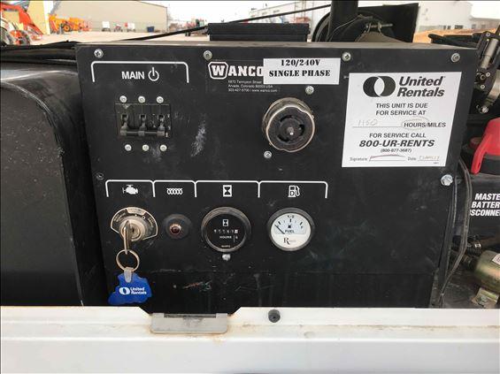 2016 Wanco WPG-LR-3PH Portable Generator