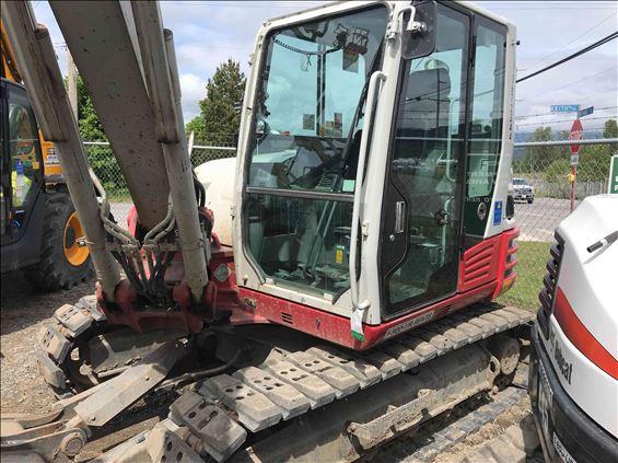2017 Takeuchi TB290CL Mini-Excavator