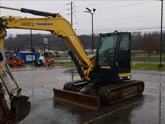 2014 Yanmar VIO80 Excavator