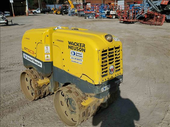 2019 Wacker Neuson RTLX-SC3 Walk-Behind Roller