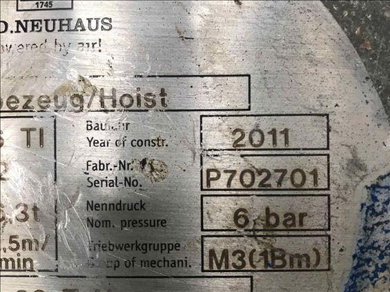 2011 JD NEUHAUS 3-6 TI PROFI Hoist