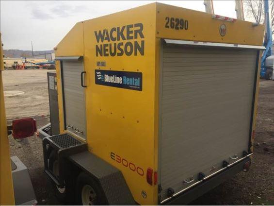 2015 Wacker Neuson E3000 Ground Heater
