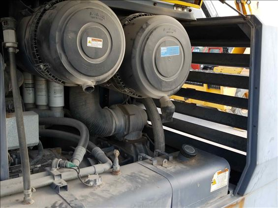 2011 Atlas Copco XAS750JDT3 Air Compressor