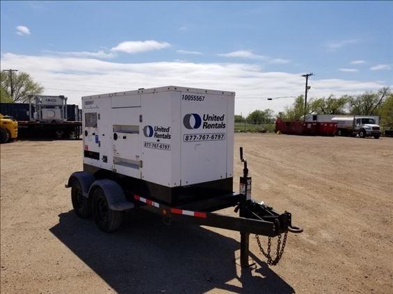 2012 Cummins C80D6RG Diesel Generator