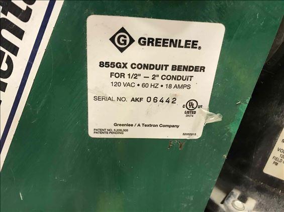2013 Greenlee 855GX Bender