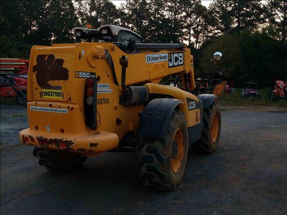 2012 JCB 550-170 Rough Terrain Forklift