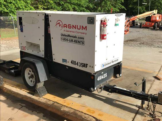 2014 Magnum Pro MMG35FHD-STD Diesel Generator