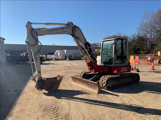 2012 Takeuchi TB180FRC Excavator
