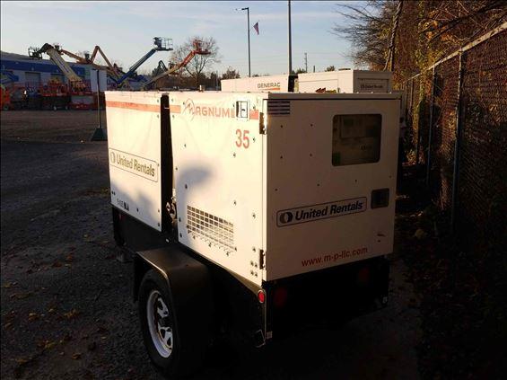 2014 Magnum Pro MMG35 Diesel Generator