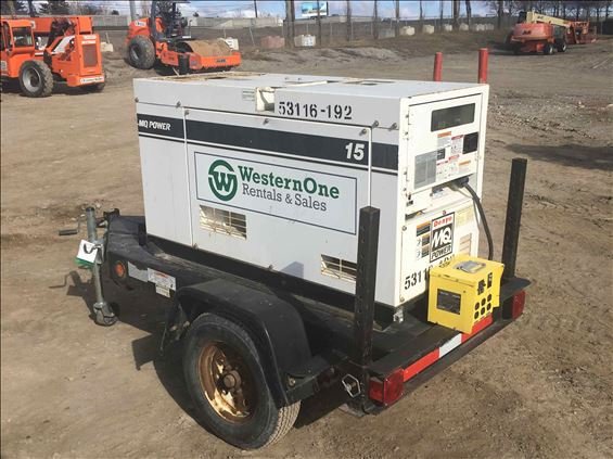 2012 Multiquip DCA15SPX Diesel Generator