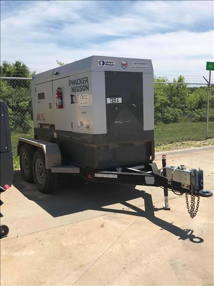 2015 Wacker Neuson G 120 Diesel Generator