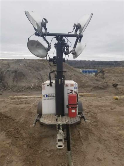 2019 Generac MLT3060MV Towable Light Tower