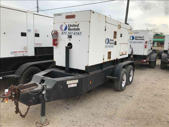 2011 Multiquip DCA125SSIC Diesel Generator