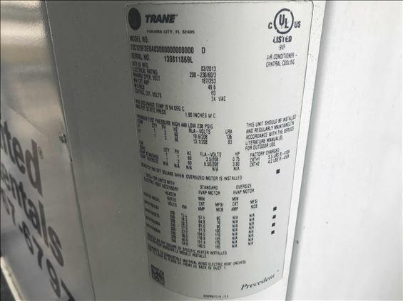 2013 TRANE TSC120F3E0A0300