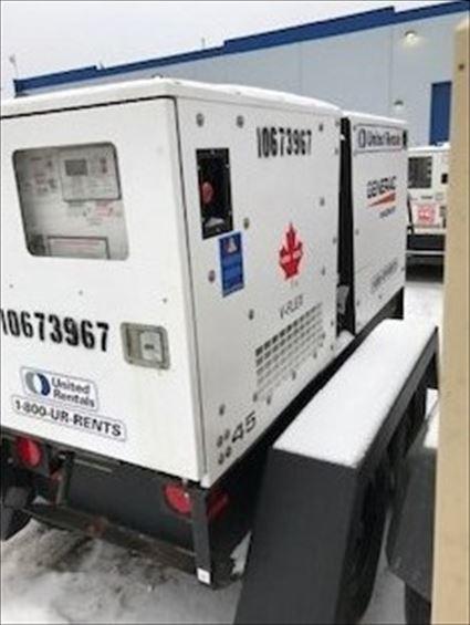 2017 Magnum Pro MMG45CAN6 Diesel Generator