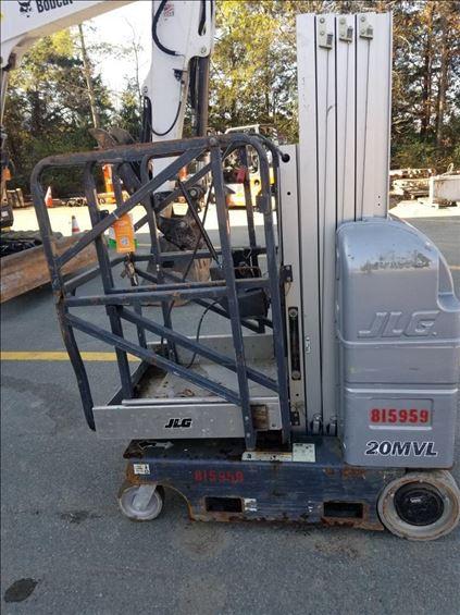 2010 JLG 20MVL-EXT Scissor Lift
