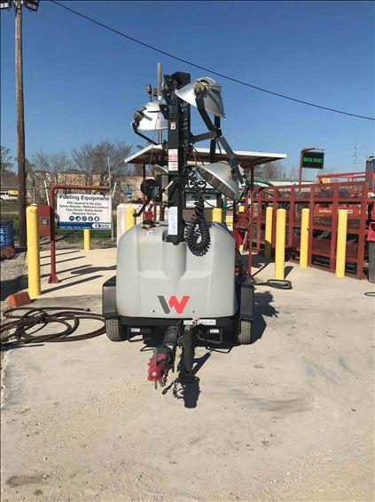 2019 Wacker Neuson LTV6L Towable Light Tower
