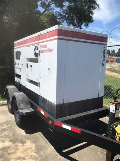 2011 Cummins C60D6RG Diesel Generator