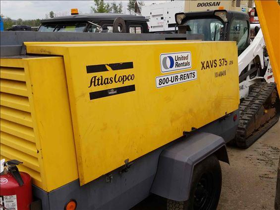 2013 Atlas Copco XAVS375JD Air Compressor