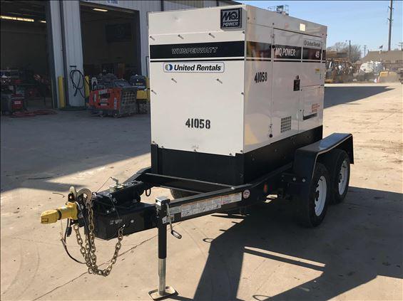 2017 Multiquip DCA45SSIU4F Diesel Generator