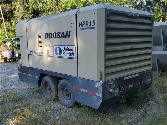 2015 Doosan HP915WCU-T4I Air Compressor