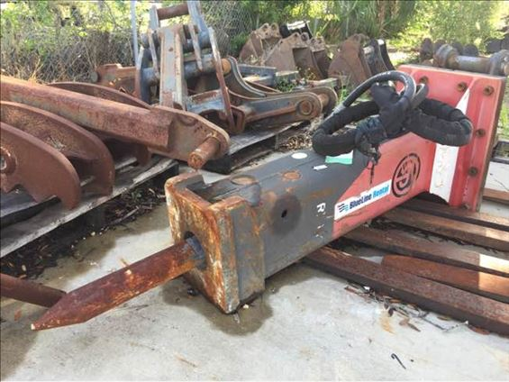 2014 Chicago Pneumatic RX11 Earthmoving Attachment