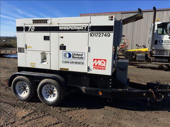 2013 Multiquip DCA70USI3CAN Diesel Generator