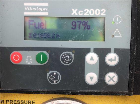 2014 Atlas Copco XAS400100PSI T4 Air Compressor