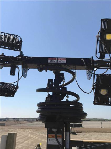 2018 Allmand MLII V 20KW Towable Light Tower