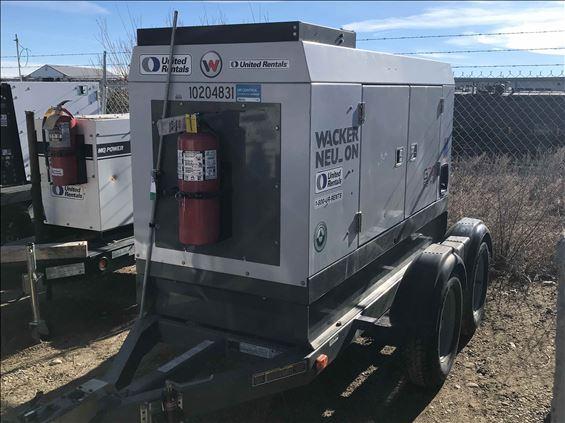 2013 Wacker Neuson G 70 Diesel Generator