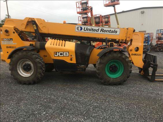 2016 JCB 507-42 Rough Terrain Forklift