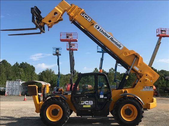 2017 JCB 510-56 Reach Forklift