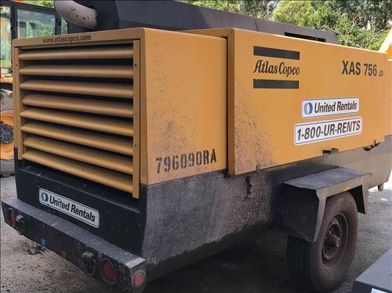 2009 Atlas Copco XAS750CD6 Air Compressor