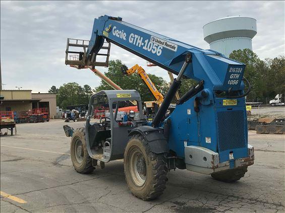 2012 Genie GTH-1056 Reach Forklift