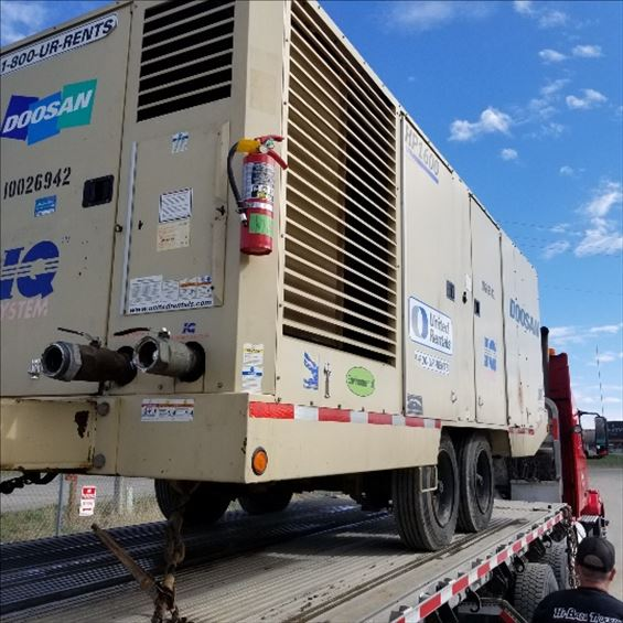 2012 Doosan HP1600WCU-IQ Air Compressor