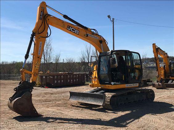 2018 JCB JZ141 Excavator