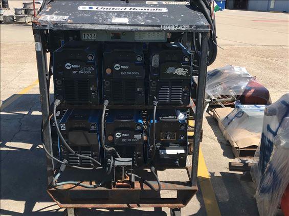 2008 Miller Welders XMT 304 4PAK Welder