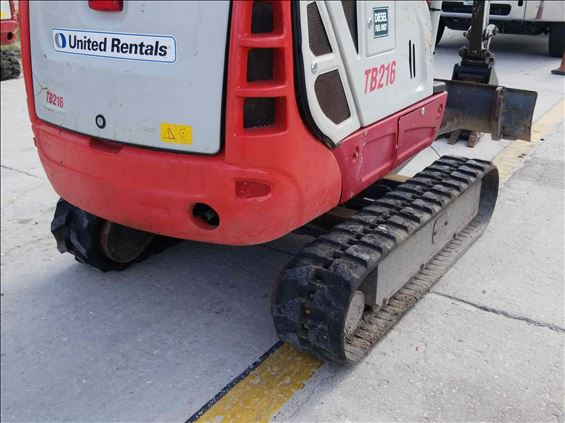 2014 Takeuchi TB216 Mini-Excavator