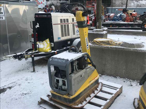 2017 Wacker DPU4545 Plate Compactor