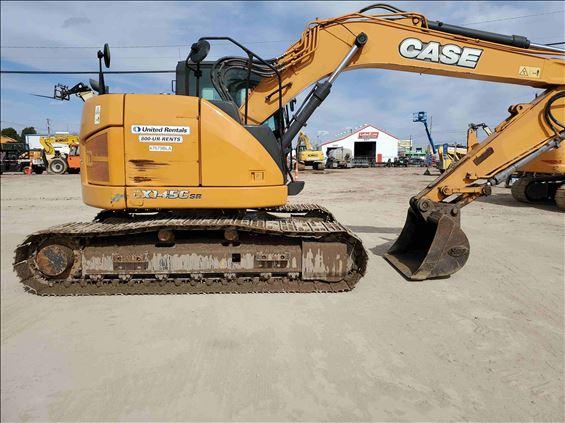 2017 Case CX145C Excavator