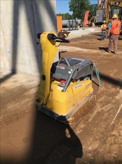 2017 Wacker DPU100-70 Plate Compactor