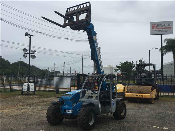 2012 Genie GTH-5519 Rough Terrain Forklift
