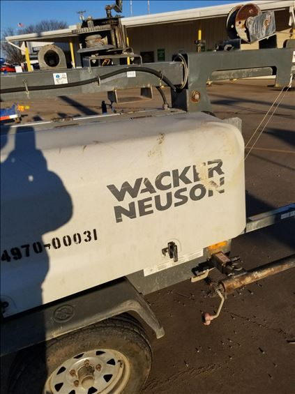 2015 Wacker Neuson LTN6L Towable Light Tower