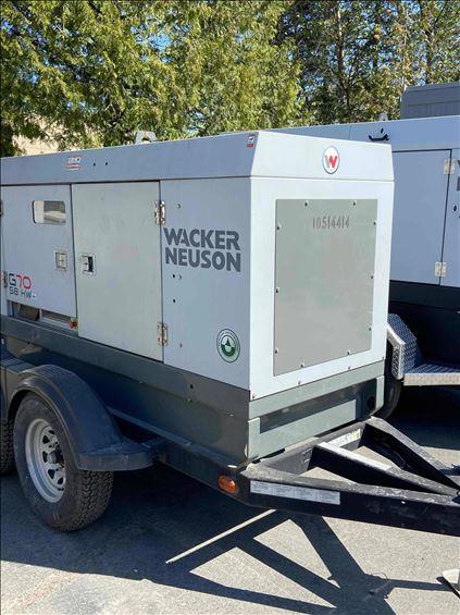 2016 Wacker Neuson G70 T4I Diesel Generator