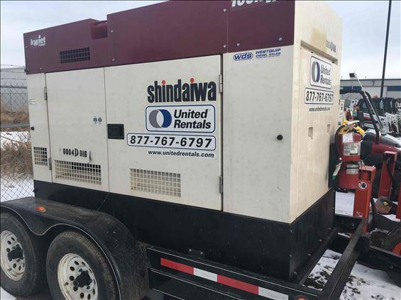 2014 SHINDAIWA DGK100D Diesel Generator