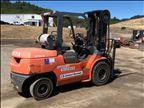 2012 Toyota 7FGAU50-DF Warehouse Forklift